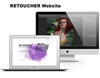 Retoucher Website