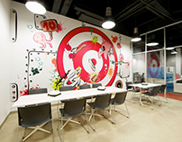 VIACOM Hungary walldesign