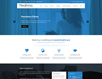 Web design - Logo design for Meditrina Healthcare