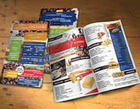 Brochure - Menu for Coffee & Snacks Store