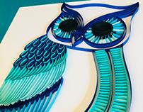 A fresh take on the Sleeping Owl!
