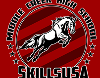 2016 SkillsUSA Middle Creek T-Shirt
