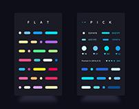 FLAT - Color Story App