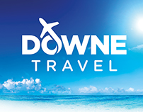 Downe Travel Rebrand