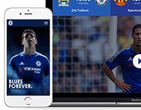 Chelsea fc Redesign