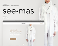 """""""see mas"""" product landing page"""