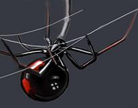 Spider Black Widow, sketch