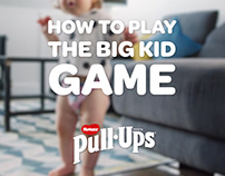 Huggies Pull-Ups 'Big Kid Game'