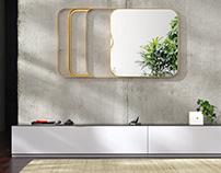 Free 3d model / Good Vibes Mirror by Ligne Roset
