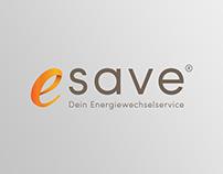 Logo for esave