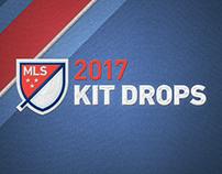 MLS 2017 Kit Drops