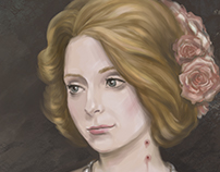 Портрет в стиле Викторианской эпохи