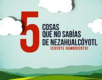 5 cosas que no sabías de Nezahualcóyotl