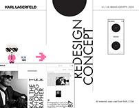 Karl Lagerfeld – e-store redesign
