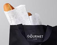 Gourmet Lab Restaurant Full Branding