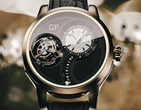 GIRARDPERREGAUX Tri-Axial Tourbillon Model