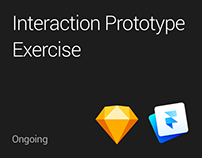 Interaction Prototype Exercise // Ongoing