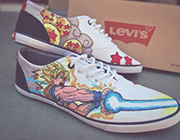 Custom Sneakers By Ray