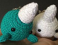 Crochet Narwhals