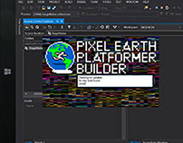 Pixel Earth Platformer Engine
