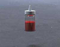 3D - Paint jar