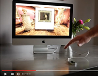 Virtual tour drive by Leap Motion