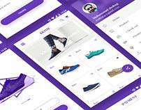 Shoes E-commerce App Concept