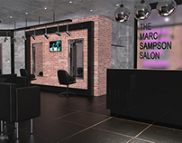 The Marc Sampson Salon 3D Visuals