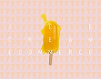 Ice cream e-commerce