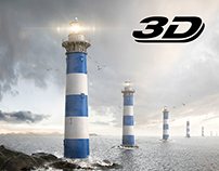 "Zurich ""Lighthouse"" CGI Landscape"