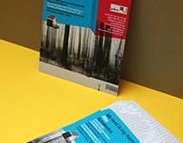Invitation card for Koralevics Rita's exhibition, Suomi
