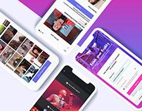 VEME- Social video network for creating video memes.