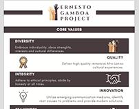 Gamboa Project Infographic - DESIGN & COPYWRITING