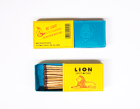 Redesign Lion Safety Matches