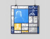 Fenerbahçe Doğuş   De Stijl Poster 2018