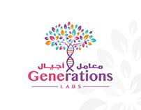 Generations Labs - Logo & Branding