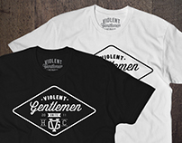 Violent Gentlemen // T-Shirt Design
