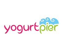YogurtPier, Frozen yogurt, Branding