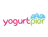 YogurtPier, Frozen yogurt, Branding