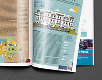 Infographics for The Business Year Magazine