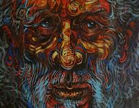 IOANN (acrylic on canvas 50x70cm)