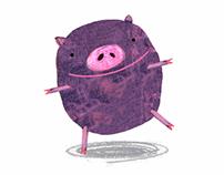 animation - pig