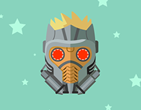 Star-Lord vector illustration