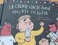 'La Crème Glacée...' Illustrated Children's Book