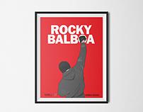 Rocky Balboa movie poster illustrations
