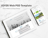 Joyer Web PSD Template