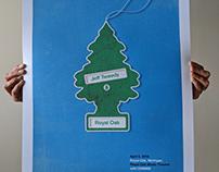 Jeff Tweedy, Royal Oak, Michigan Gig Poster