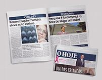 Jornal O HOJE - Trabalho acadêmico