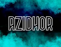 AZIDHOR | Typeface