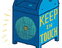 Keep In Touch Logo and Website